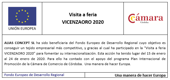 Visita a feria Vicenzaoro 2020