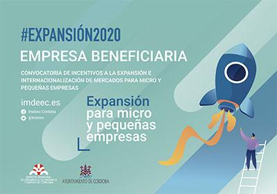 Expansión 2020: empresa beneficiaria